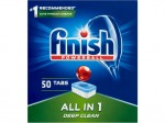 Tabletki do zmywarki FINISH All-in-one Powerball 50 sztuk regular
