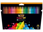 Flamastry Bic Color Up 24 kolory