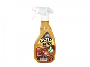 Płyn do mebli Gold Wax z pompką 400ml