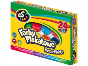 Farby plakatowe AS Astra 20ml 24 kolory