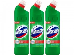 Płyn do WC Domestos 24h Plus Pine Fresh 1250ml 3 sztuki