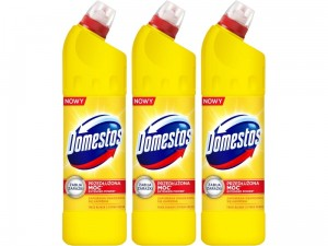 Płyn do WC Domestos 24h Plus Citrus Fresh 1250ml 3 sztuki