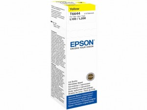 Tusz Epson T6644 yellow 70ml butelka C13T66444A