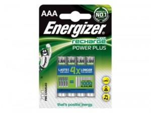 Akumulator Energizer Power Plus AAA 1,2V HR03 4 sztuki