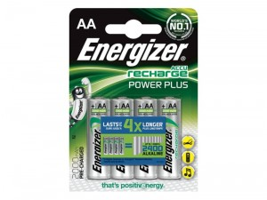 Akumulator Energizer Power Plus AA 1,2V HR6 4szt.