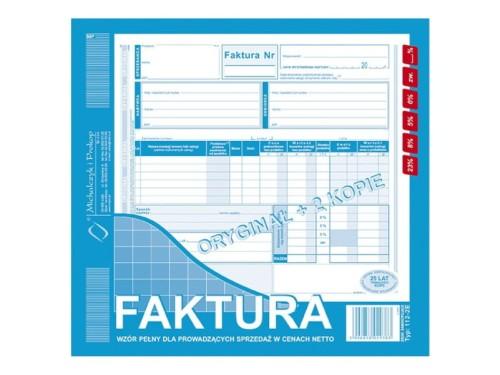 Druki Akcydensowe Papier Rolki Druki Faktura Vat Wzór Pełny 12